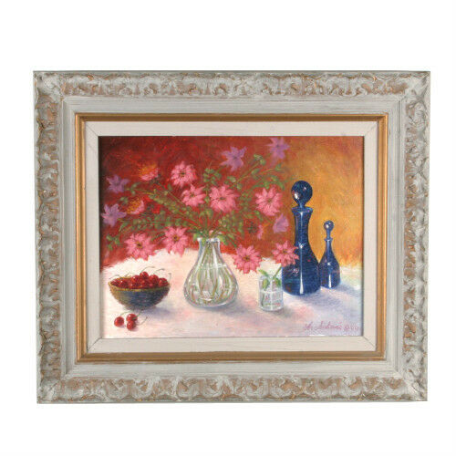 """Potpourri"" By Anthony Sidoni 1999 Signed Oil on Canvas 20 3/4""x24 1/2"""