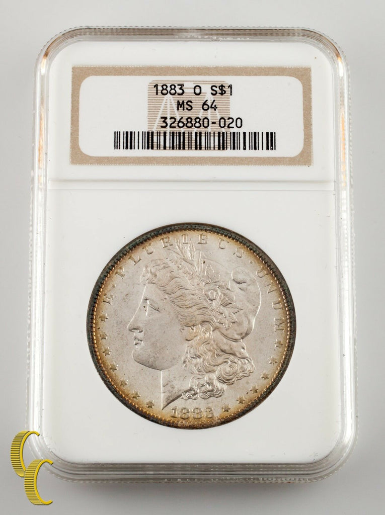 1883-O $1 Silver Morgan Dollar NGC Graded MS 64