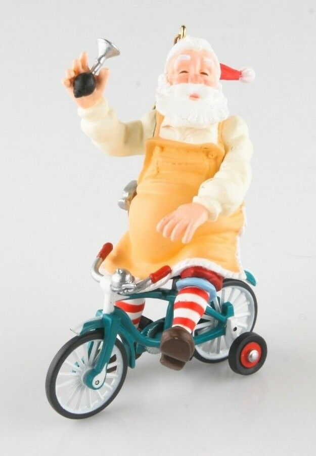 "Hallmark Keepsake Ornament ""Toymaker Santa"" Collector's Series 2002 w/ Box RARE!"