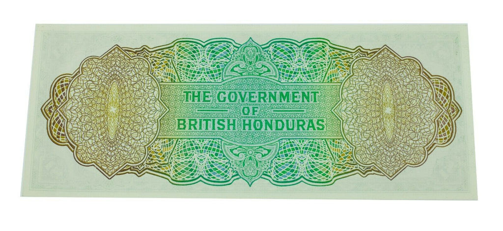 1969 British Honduras One Dollar Note in Unc. Condition Pick# 28b