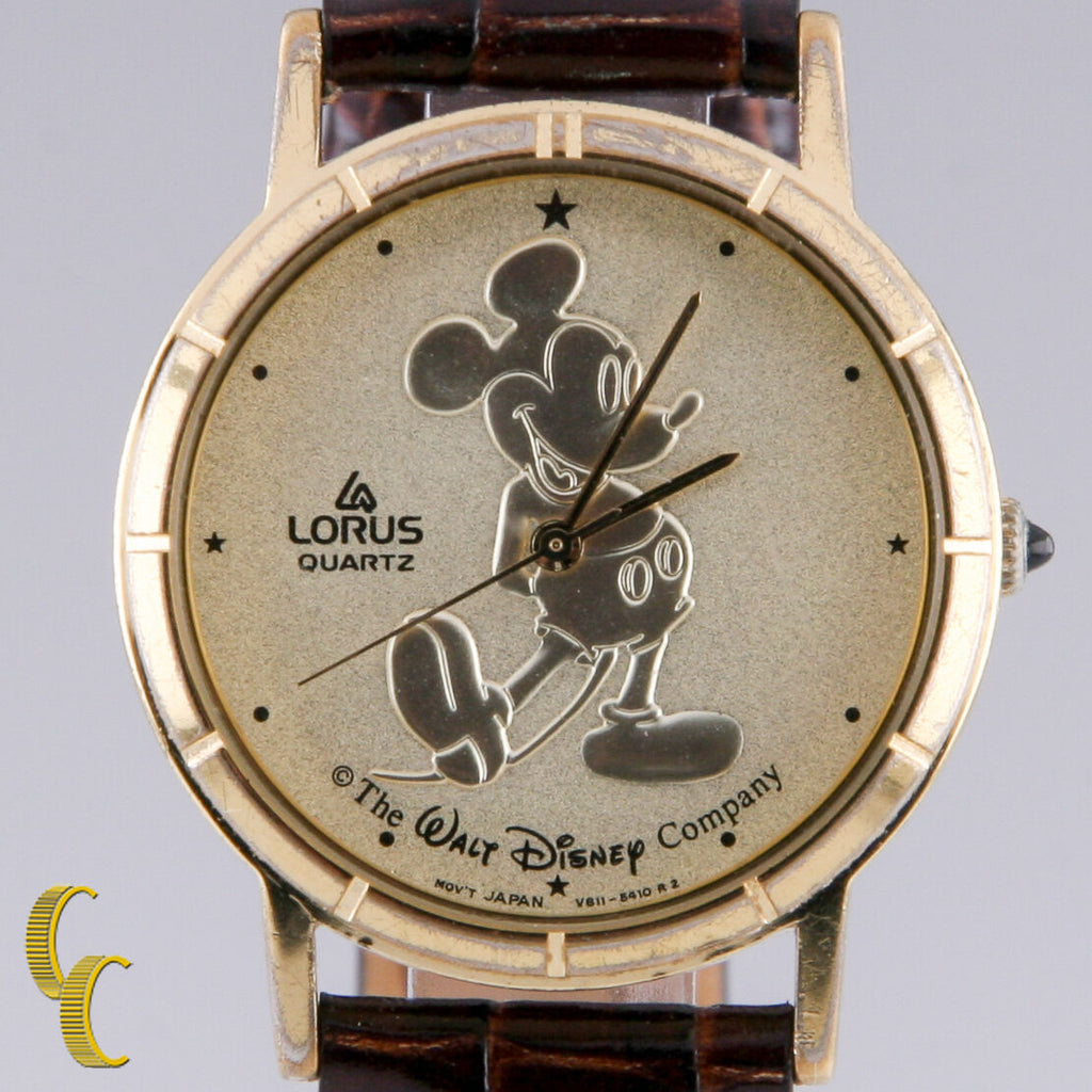 "Lorus Unisex Mickey Mouse Quartz Watch ""The Walt Disney Co"" V811A"