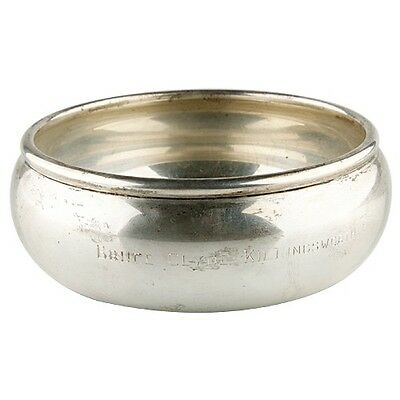 TUTTLE STERLING SILVER BOWL & UNDERPLATE