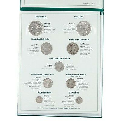 SILVER COINS OF SAN FRANCISCO MINT 1878-1937 SET OF 9 P.C. SOCIETY