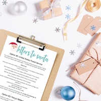 Christmas Letter to Santa Template + Instructions