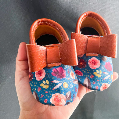 Fall floral Moccs- PICK A STYLE