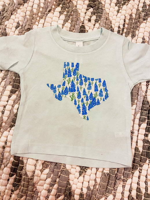Texas Bluebonnets- Light Blue Shirt