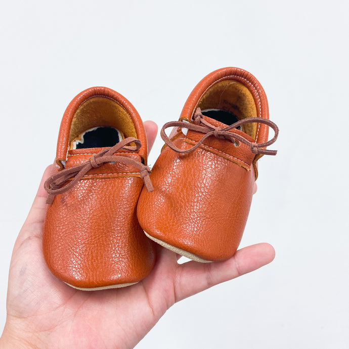 Cinnamon Loafers with Laces- STYLE AS PICTURED