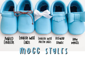 Pigs Moccs- PICK A STYLE