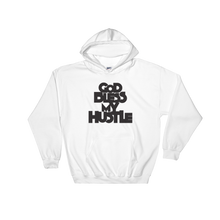 Load image into Gallery viewer, GOD BLESS MY HUSTLE HOODIE