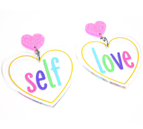 Self Love earrings (original)