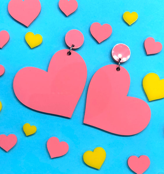 """Sweet Heart"" - Sweet Pink - Bombshell Accessories"