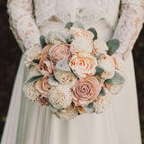 Blushing Peach Bridal Collection