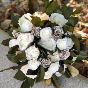 Woodland Goddess Toss Bouquet
