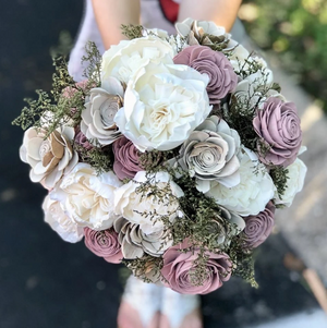 Dusty Woodlands Bridal Bouquet