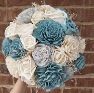 Atlantis Mason Jar Bouquet