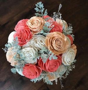 Savannah Mason Jar Bouquet
