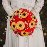 Sunflower Harvest Bridal Collection