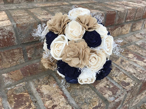 Preppy Burlap Bridal Collection