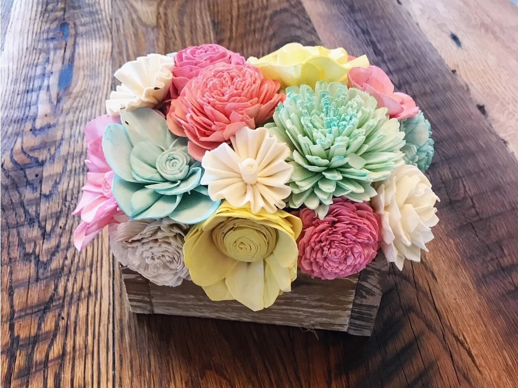 Colorful Mini Centerpiece Box