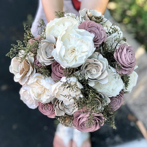 Dusty Woodlands Bridal Collection