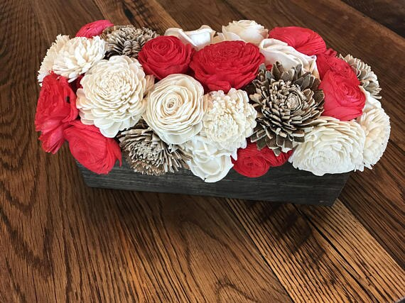 Christmas Days Centerpiece Box