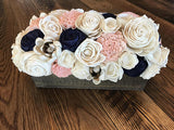 Preppy and Pink Centerpiece Box