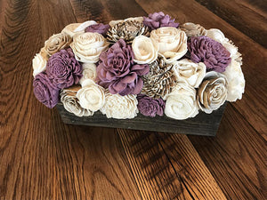 Plum Perfect Centerpiece Box