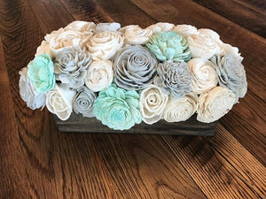 Mint Mist Centerpiece Box
