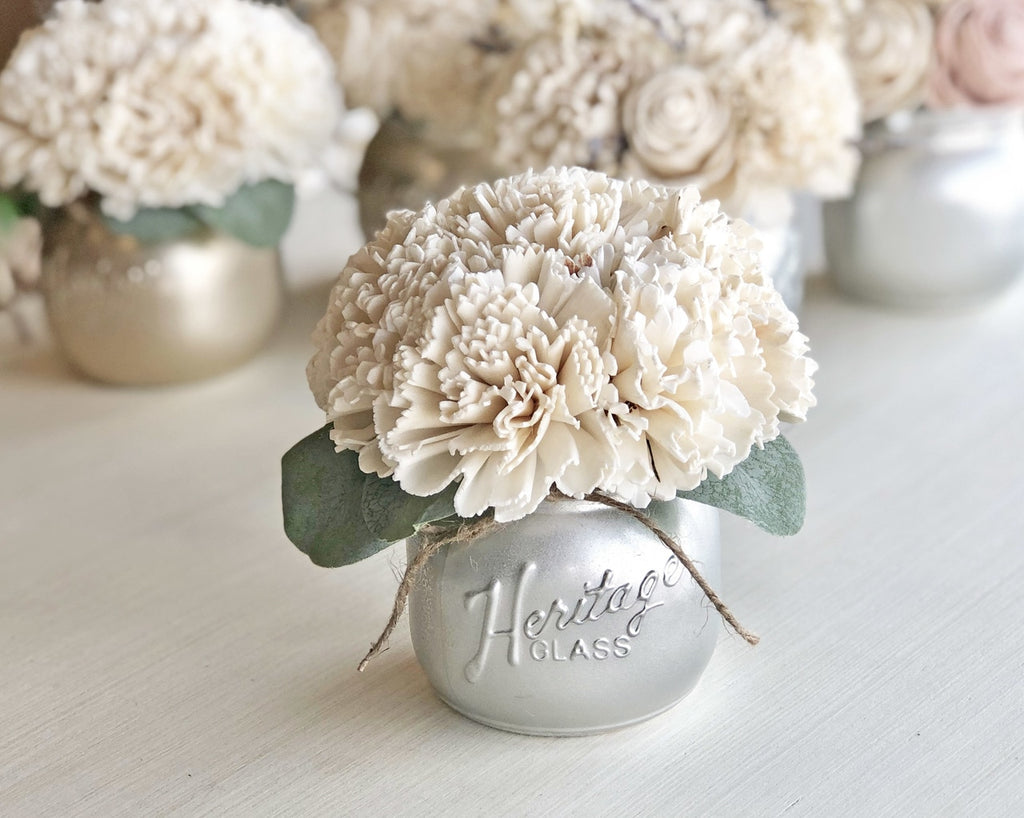 Half Pint Jar Table Decor