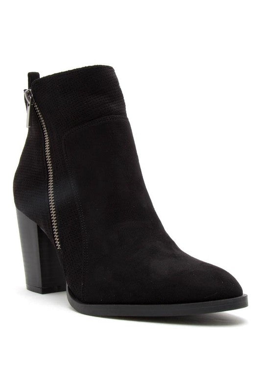 Chic Black Ankle Booties