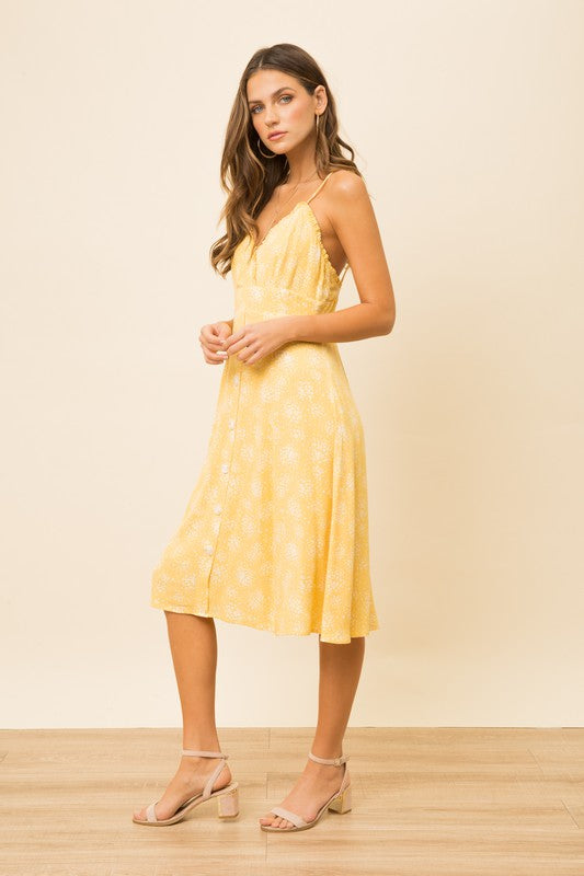 Lemon Drop Sundress