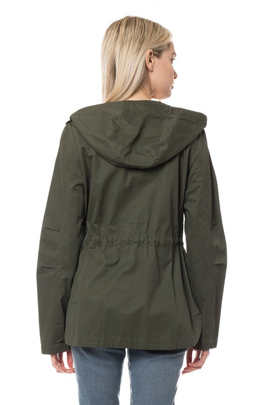 Hooded Utility Jacket