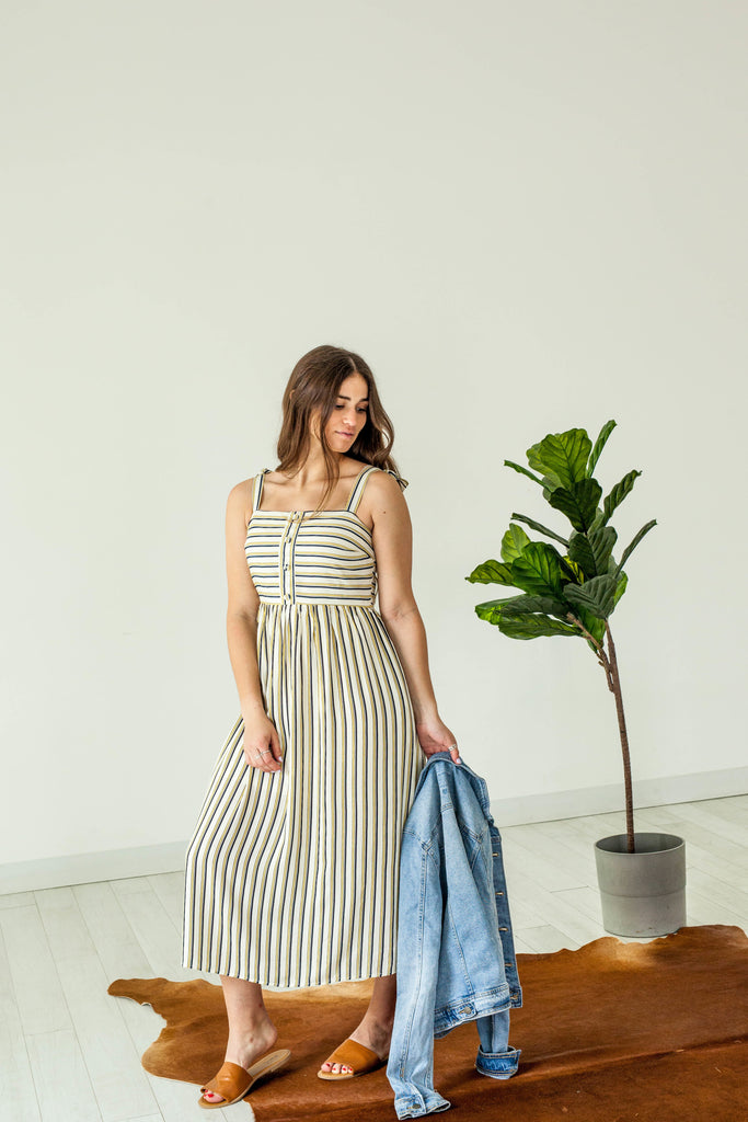 Sundress with Shoulder Tie