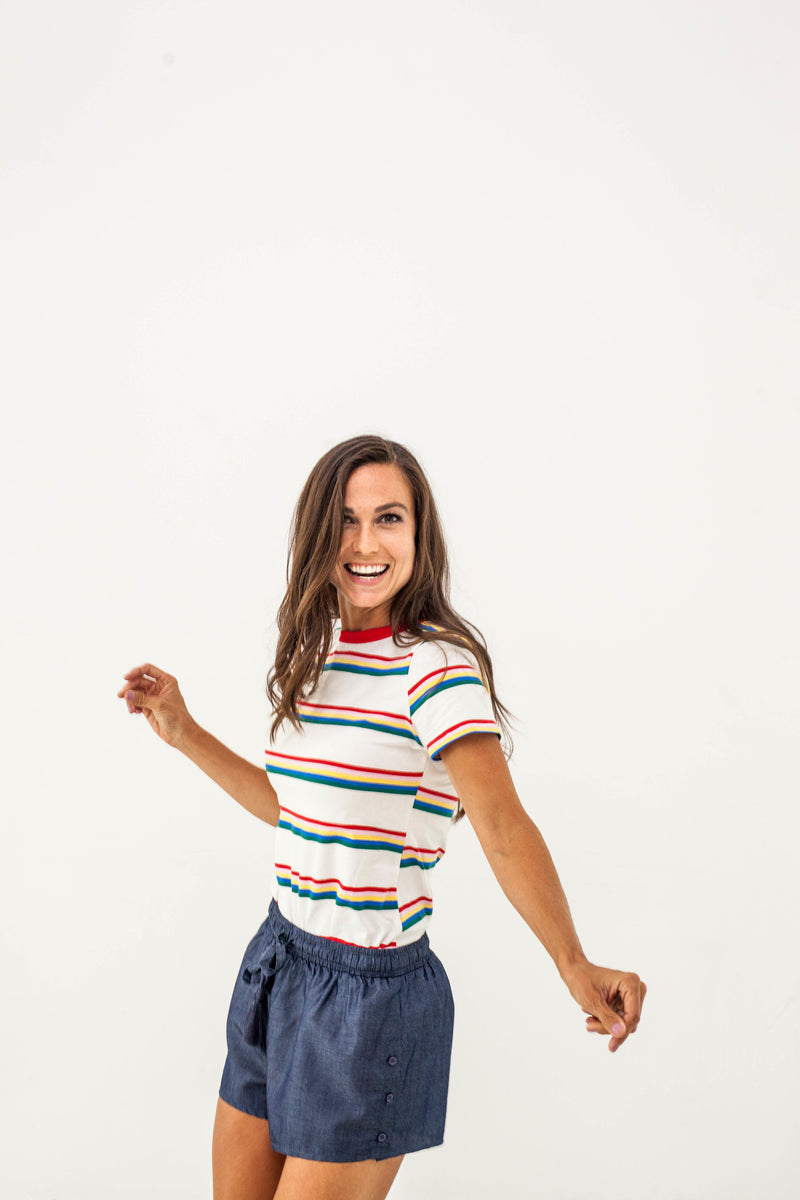 Carnival Striped Tee