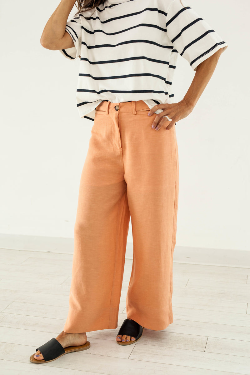 Sherbet Orange Culotte