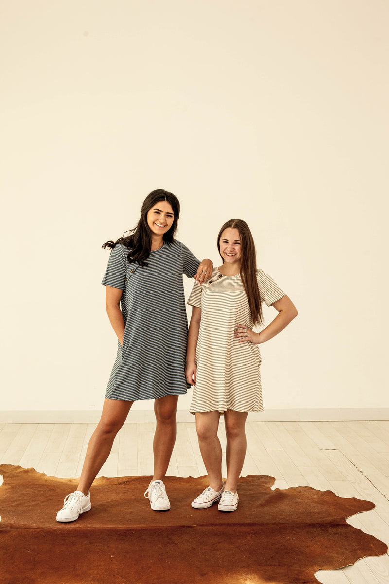 T-Shirt Dress with Pockets!