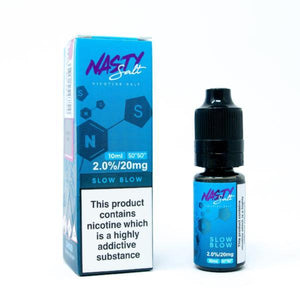 מלח ניקוטין - Nasty Salts - Slow Blow 10ml