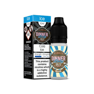 מלח ניקוטין - Dinner Lady Salts - Cola Ice 10ml
