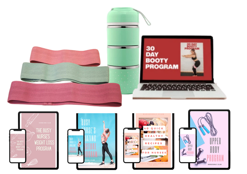 The Busy Nurses' Mega Health and Fitness Bundle
