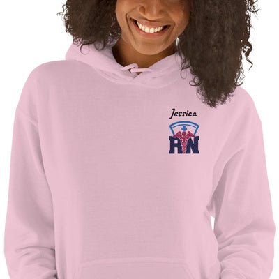 Personalized Embroidered RN Hoodie