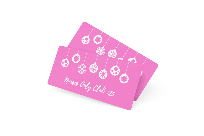 Nurses Only Club gift card
