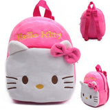 1-3Y Plush Cartoon Hello Kitty School Bag