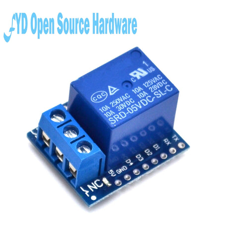 1 channel  Relay Shield V2 Version 2 for WEMOS D1 mini ESP8266 WiFi Module
