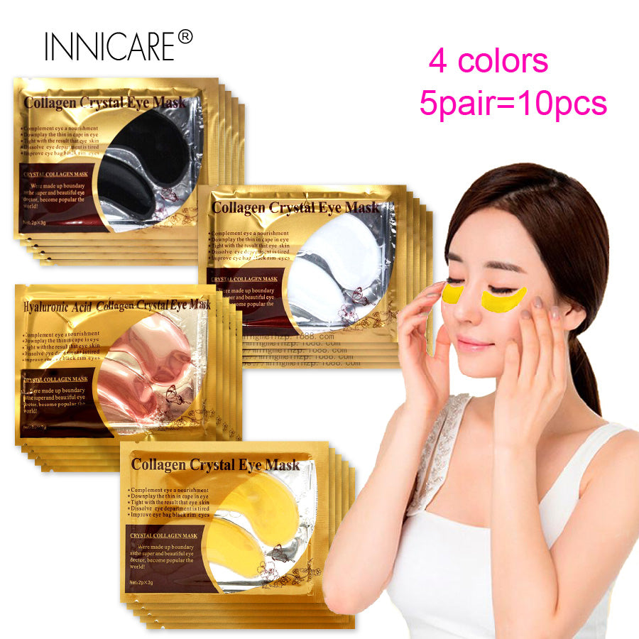 24K Gold Collagen Eye Mask Eye Patches Dark Circle Puffiness Eye Bag Anti-Aging
