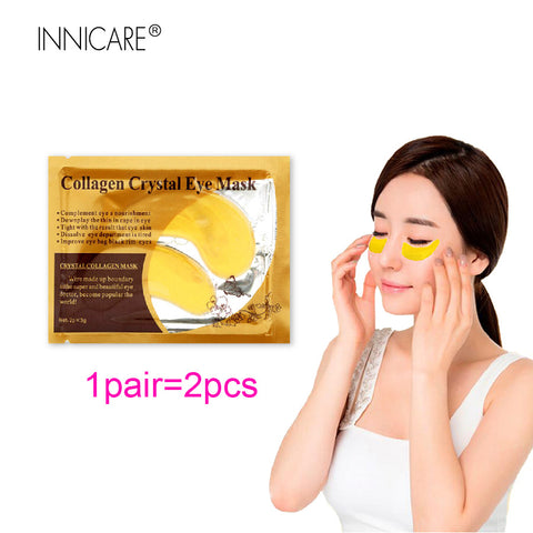 Image of 24K Gold Collagen Eye Mask Eye Patches Dark Circle Puffiness Eye Bag Anti-Aging