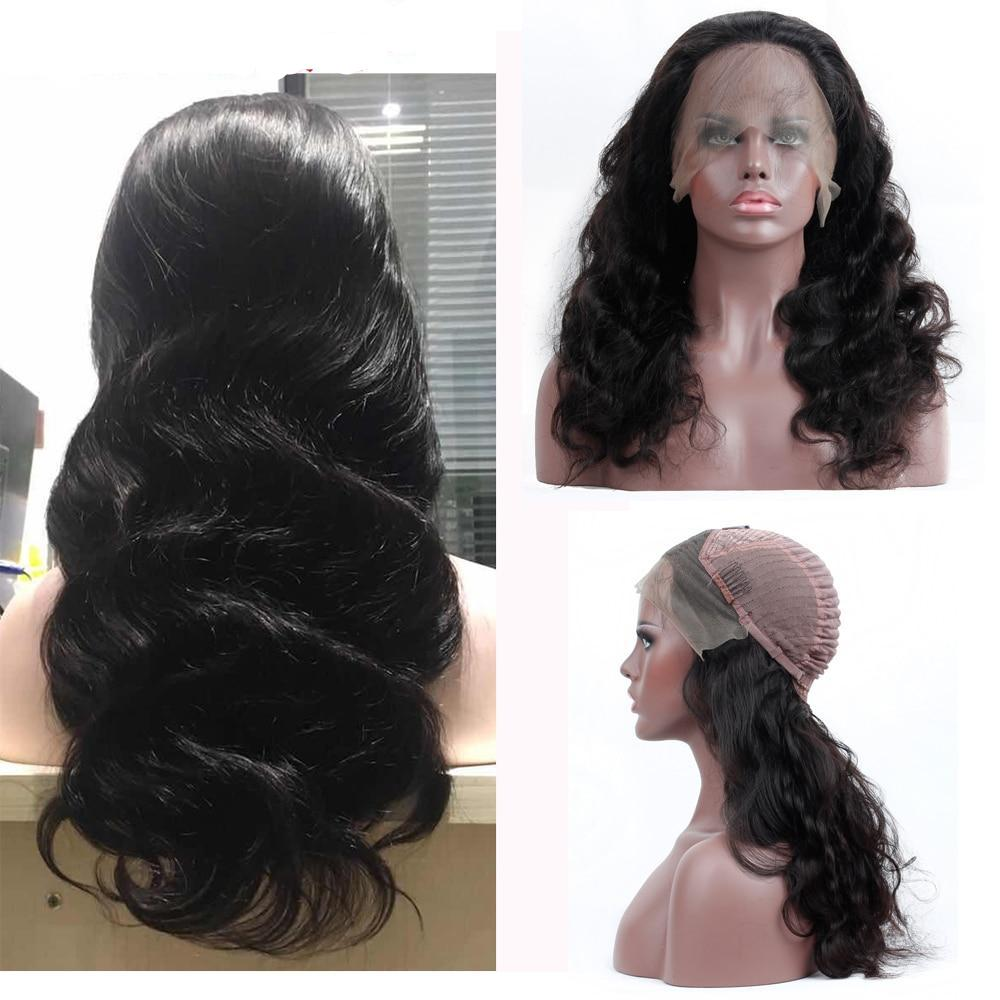 Brazilian Body Wave Lace Frontal Wig Human Hair