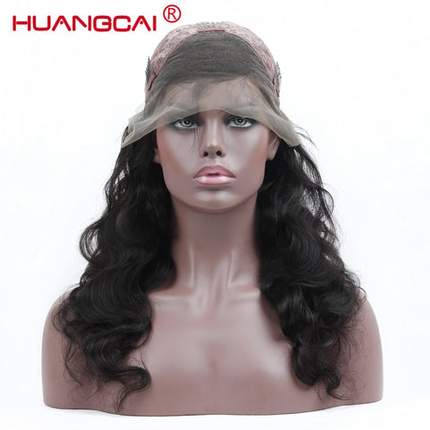 Image of Brazilian Body Wave Lace Frontal Wig Human Hair