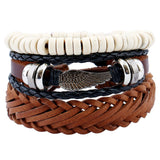 Leather Ethnic Vintage Personalized Bracelets