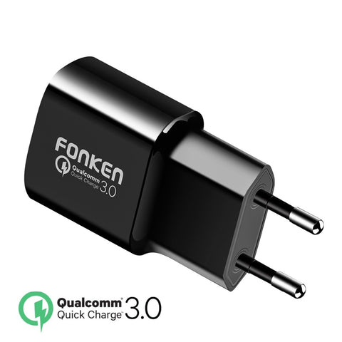 Image of USB Fast Charger QC3.0 QC2.0 18W Wall USB Adapter for Power Bank
