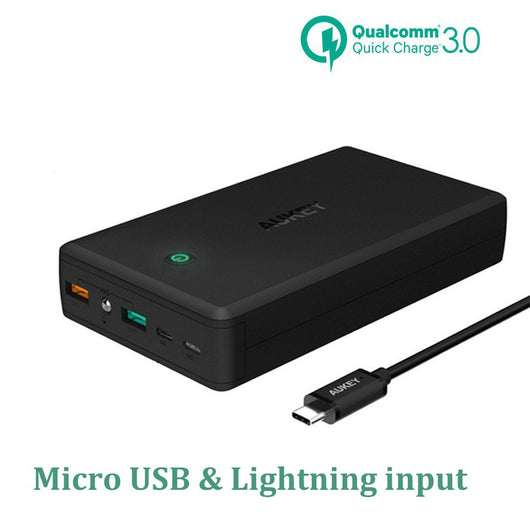 Power Bank Quick Charge 3.0 Dual Usb Mobile Phone Charger For Xiaomi etc